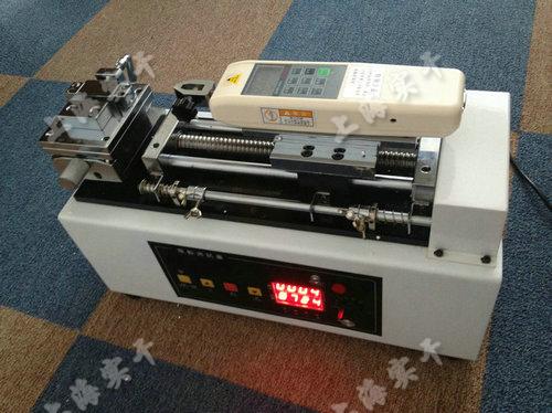 高精度电动卧式拉力测试台