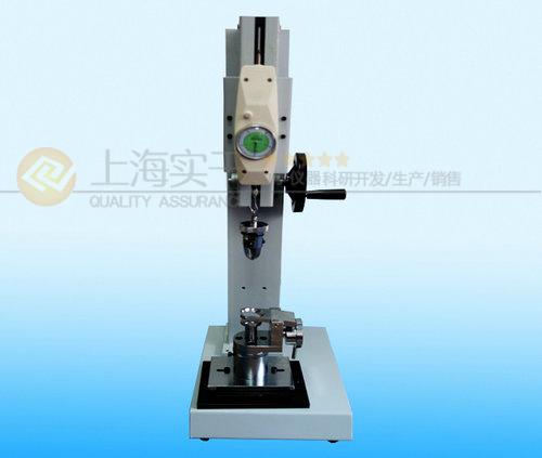 SGNL纽扣拉力测试架,钮扣抗拉力检测仪价格,手动纽扣拉力测试机厂